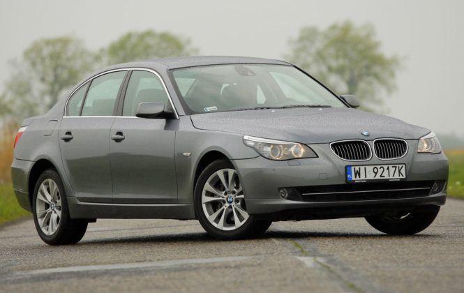 BMW serii 5 (E60) - przód