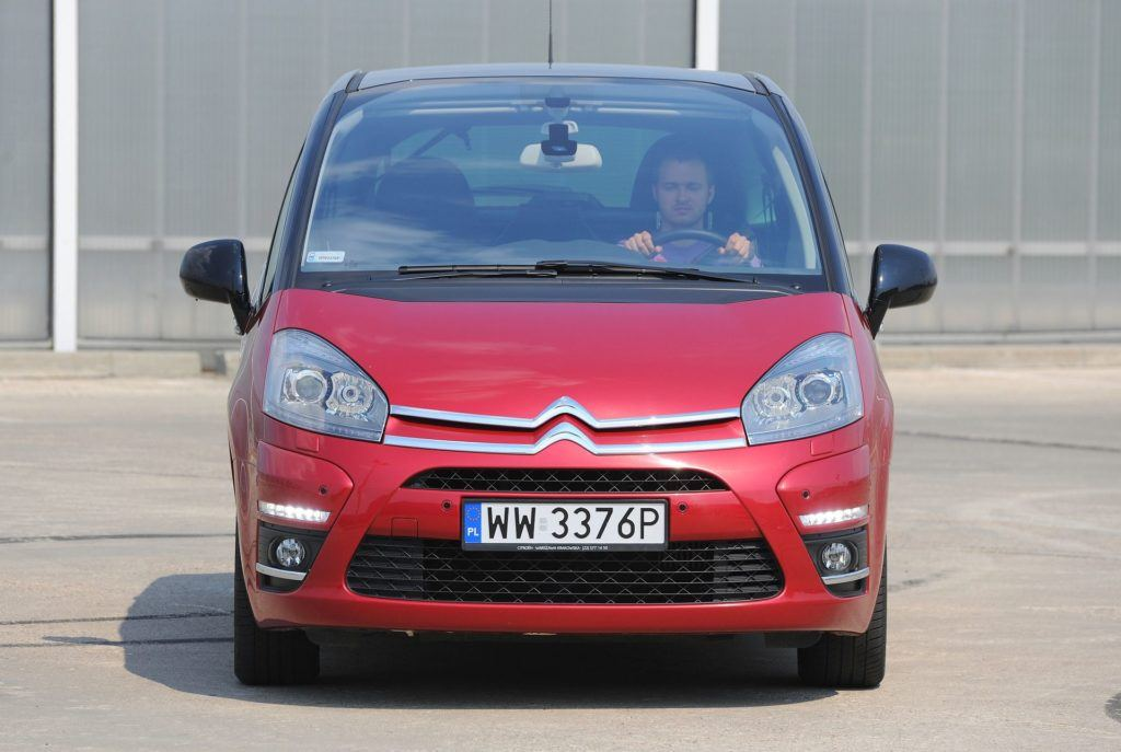 CITROEN C4 Picasso I FL Exclusive Black Top 2.0HDi 150KM 6MT WW3376P 04-2011