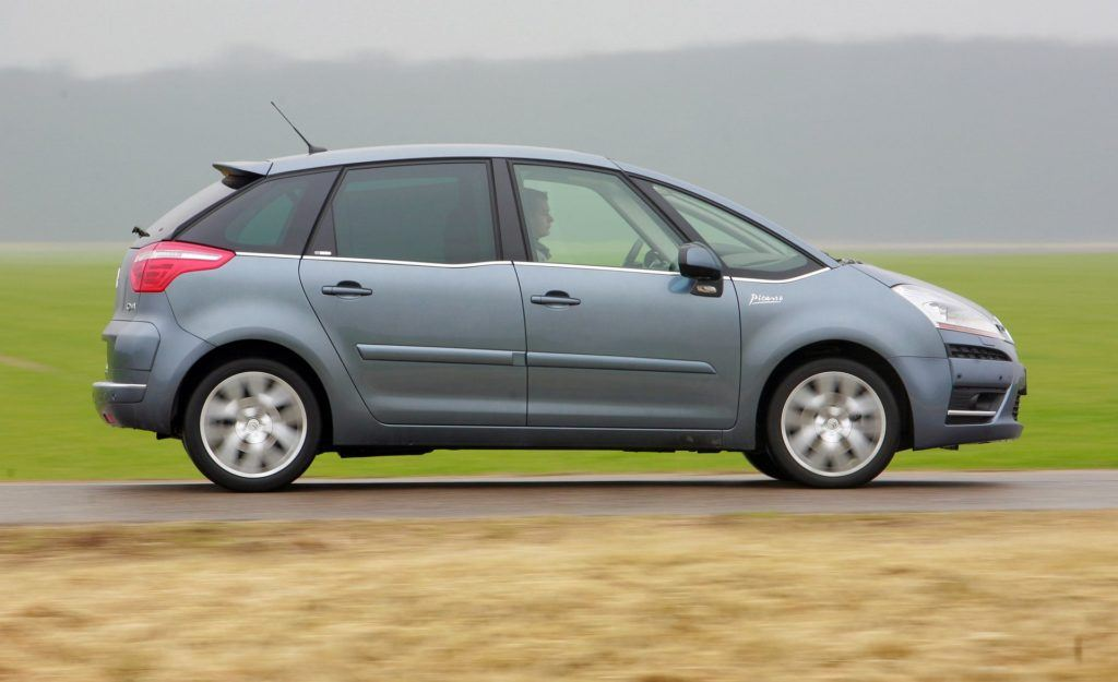 CITROEN C4 Picasso I Exclusive 2.0HDi 136KM 6AT WW6326R 01-2008