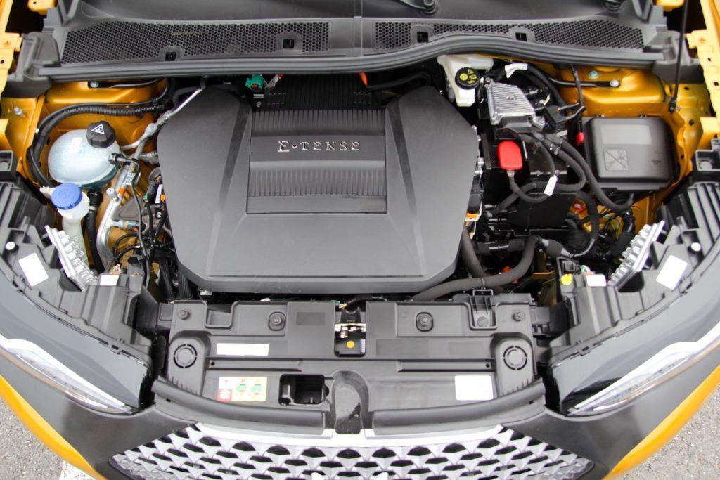 DS3 Crossback E-tense - silnik