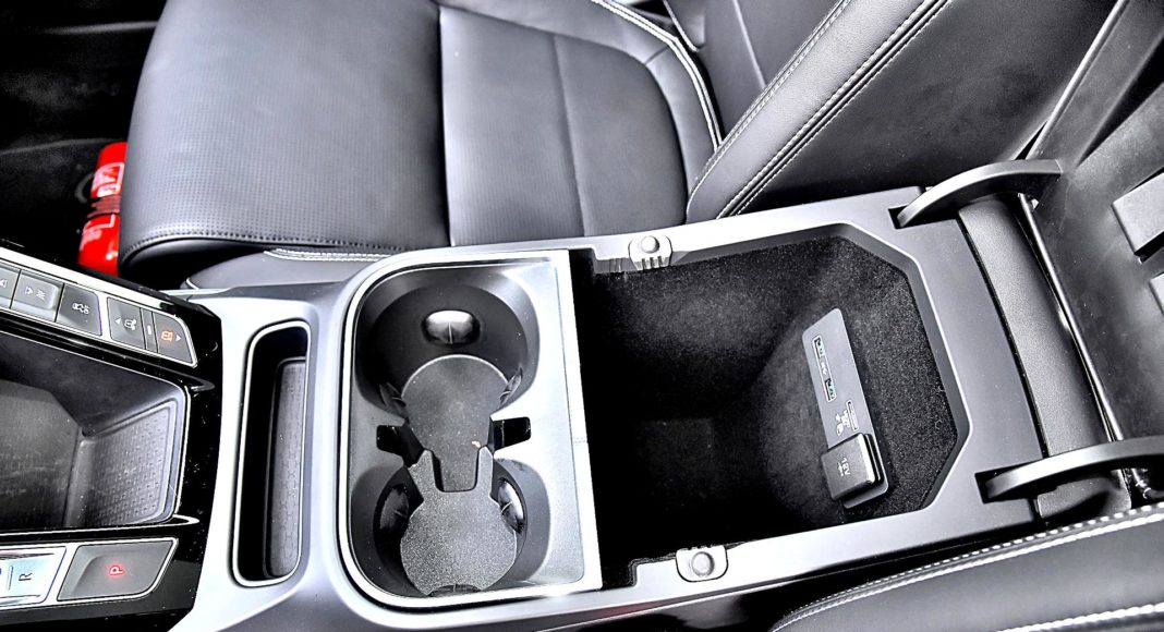 Jaguar I-Pace EV400 AWD – podłokietnik