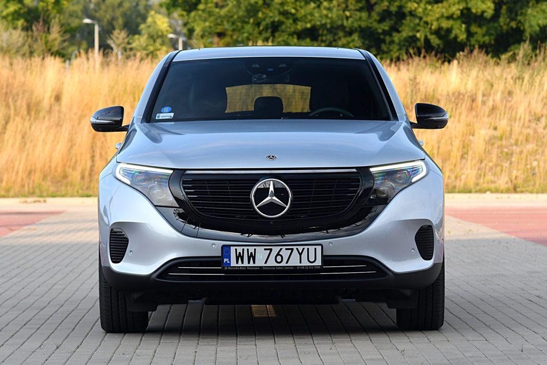 Mercedes EQC 400 4Matic – przód