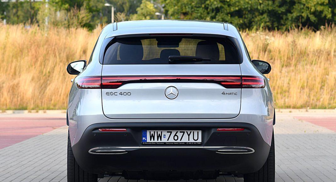 Mercedes EQC 400 4Matic – tył