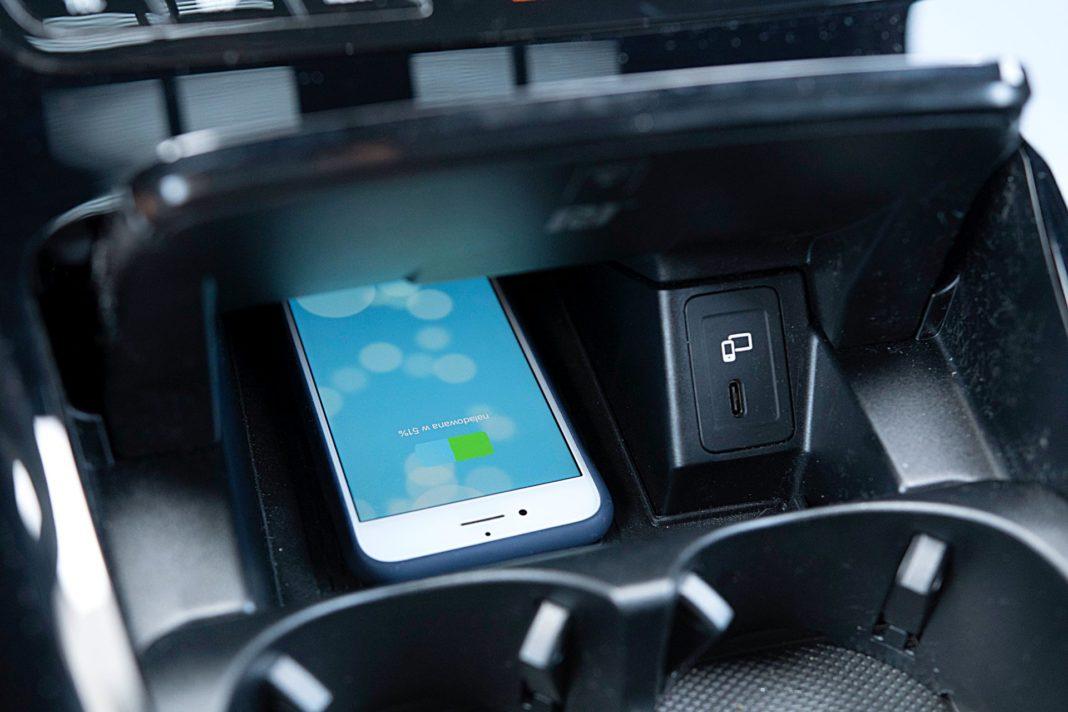 Mercedes EQC 400 4Matic – ładowarka indukcyjna