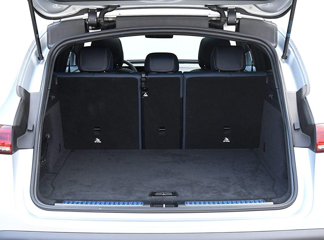 Mercedes EQC 400 4Matic – bagażnik