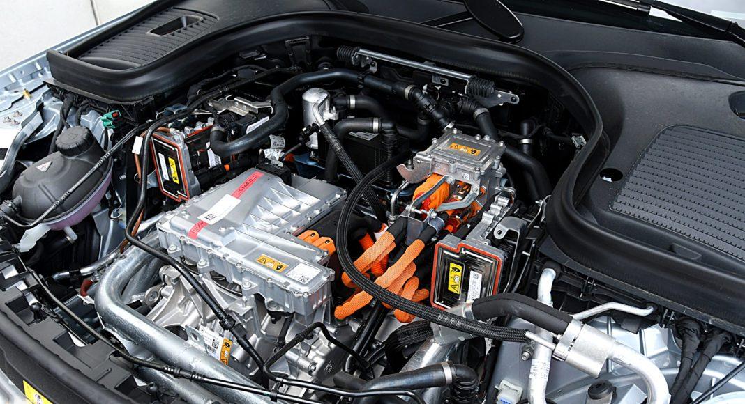 Mercedes EQC 400 4Matic – silnik