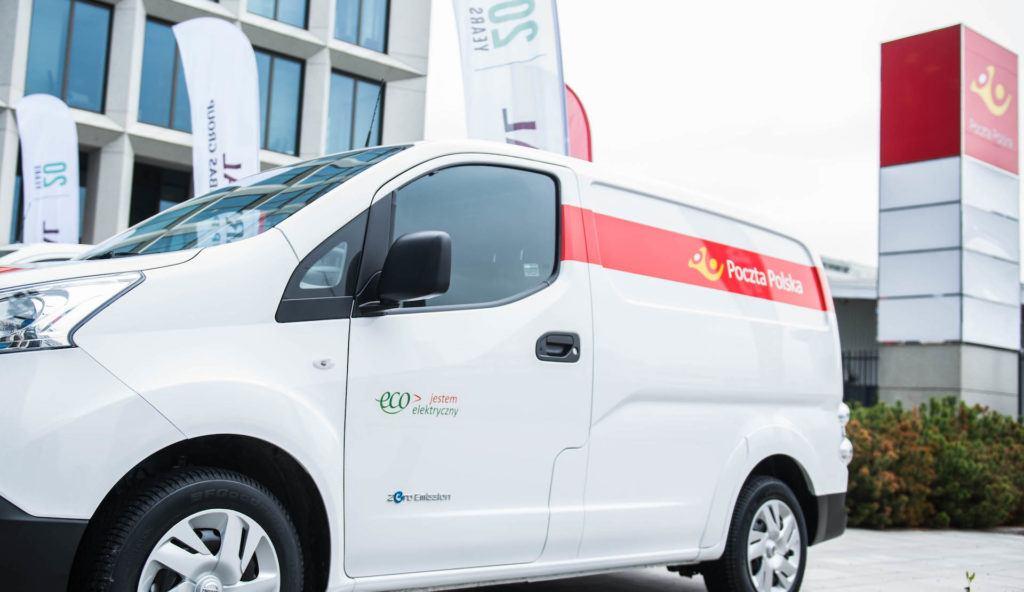 Poczta Polska elektryczne auto