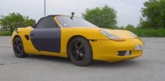 Porsche Boxster z Lady