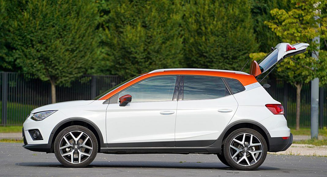 Seat Arona 1.0 TSI 115 Xcellence – bok bagażnik
