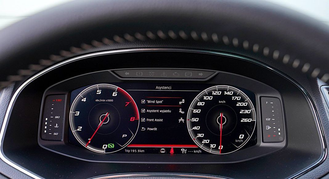 Seat Arona 1.0 TSI 115 Xcellence – wskaźniki