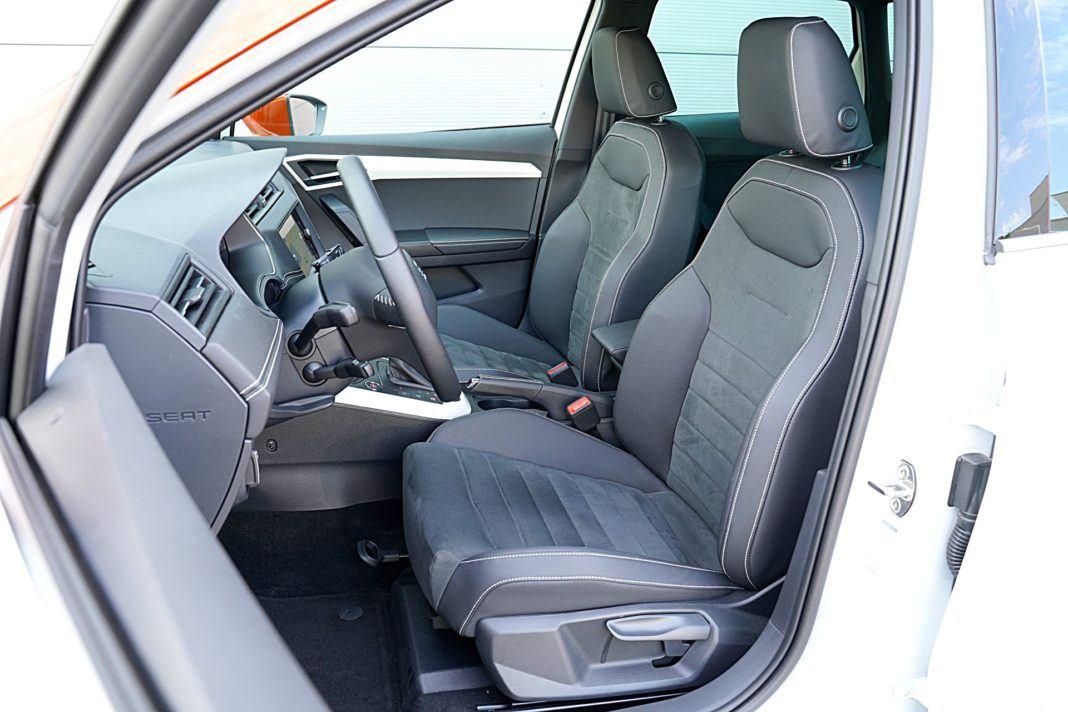 Seat Arona 1.0 TSI 115 Xcellence – fotele
