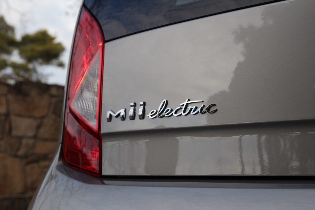 Seat Mii electric - tył