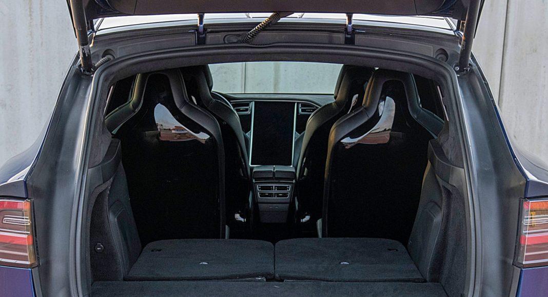 Tesla Model X Long Range – bagażnik