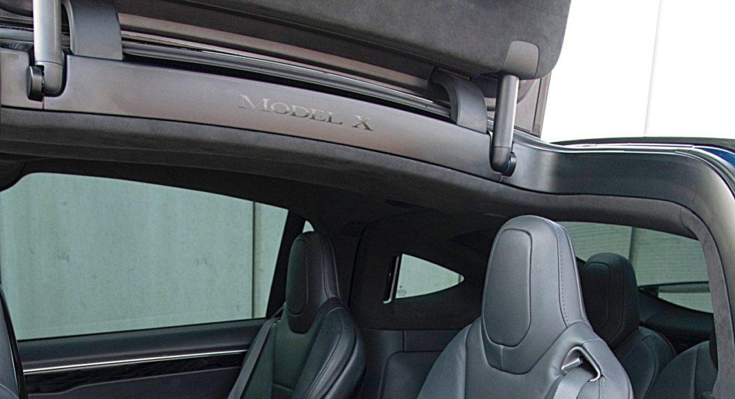 Tesla Model X Long Range – fotele: drugi rząd