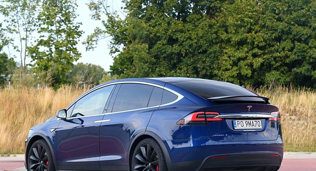 Tesla Model X Long Range – tył