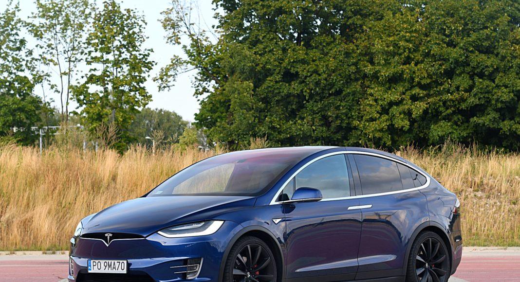 Tesla Model X Long Range – przód