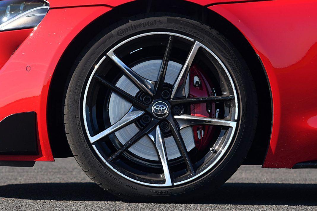 Toyota GR Supra – felga i hamulce