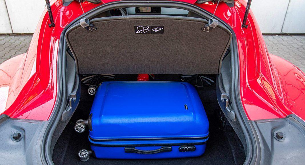 Toyota GR Supra – bagażnik