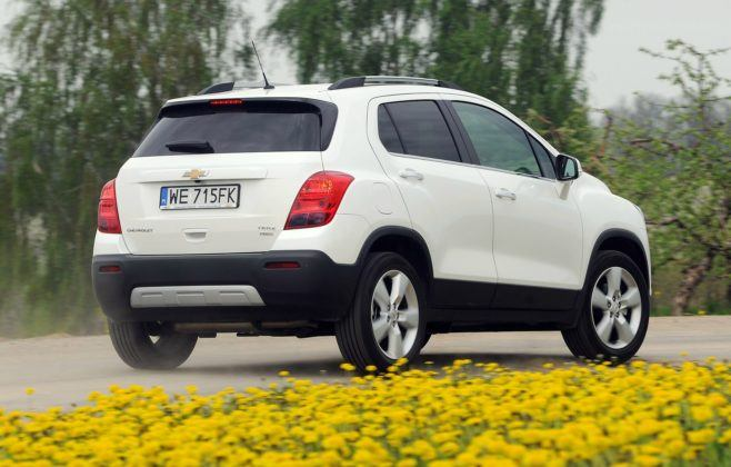 CHEVROLET Trax LTZ 1.7d 130KM 6MT AWD WE715FK 05-2013