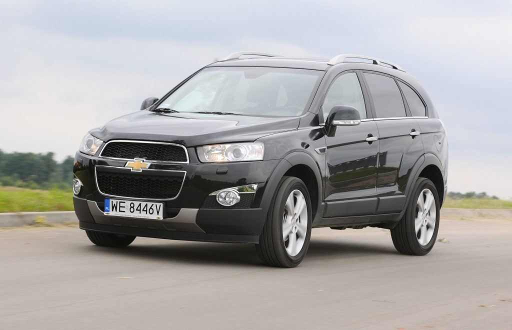 CHEVROLET Captiva I FL LTZ WE8446V 07-2011