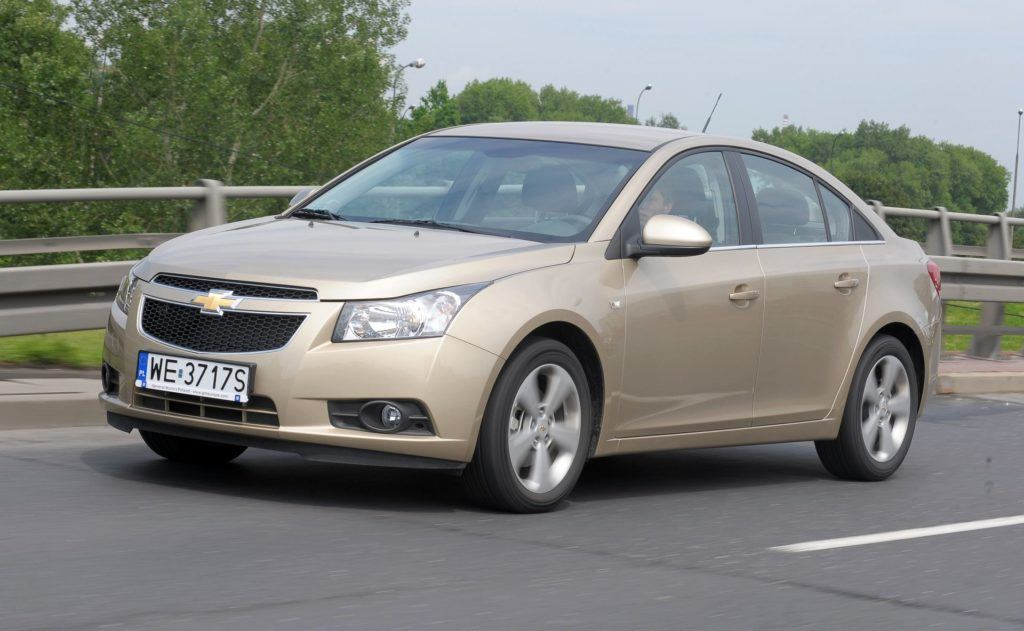 CHEVROLET Cruze I Sedan LT 2.0d VCDi 16V 150KM 5MT WE3717S 06-2009