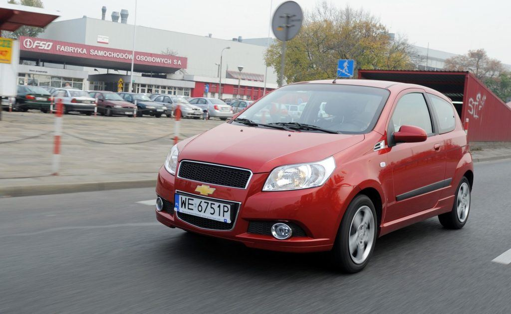 CHEVROLET Aveo I FL 1.4 16V 101KM 5MT WE6751P 10-2008