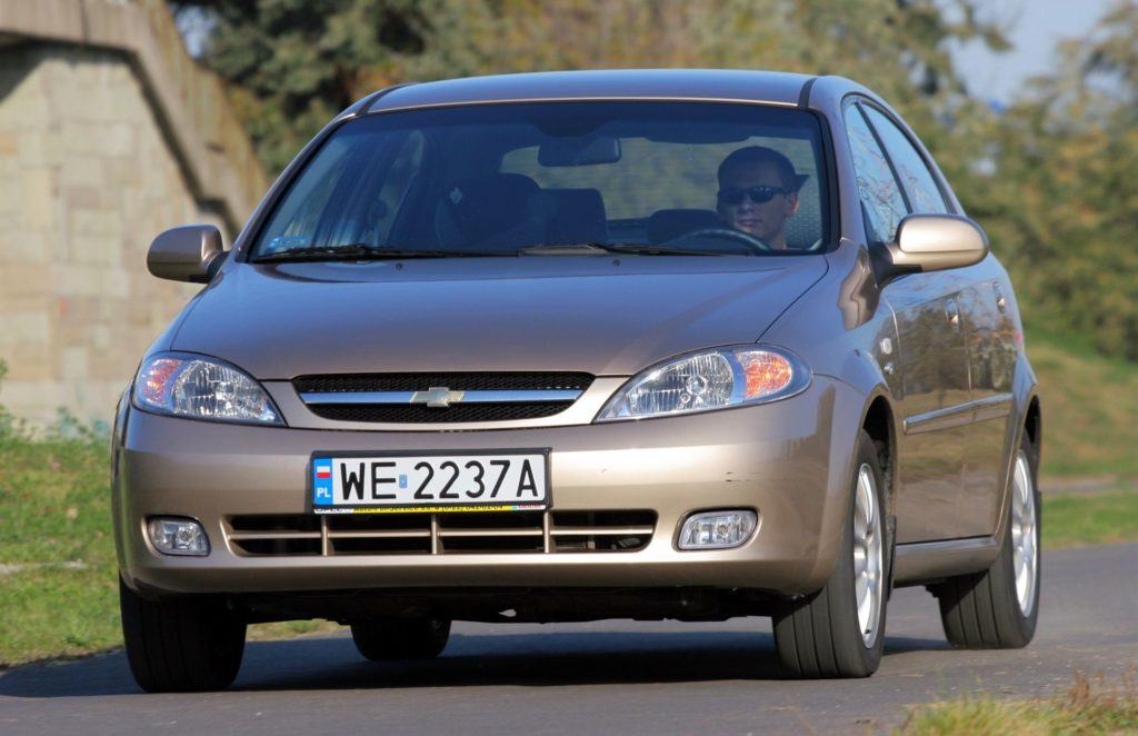 CHEVROLET Lacetti CDX 1.8 16V 121KM 5MT WE2237A 10-2004