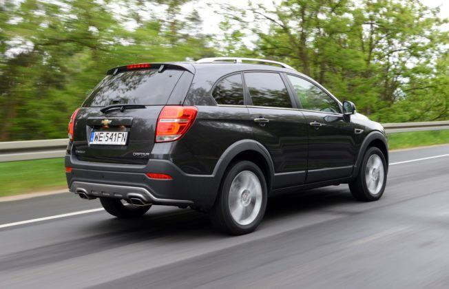 CHEVROLET Captiva I FL 2.2d 184KM 6AT AWD 7-os WE541FN 05-2013
