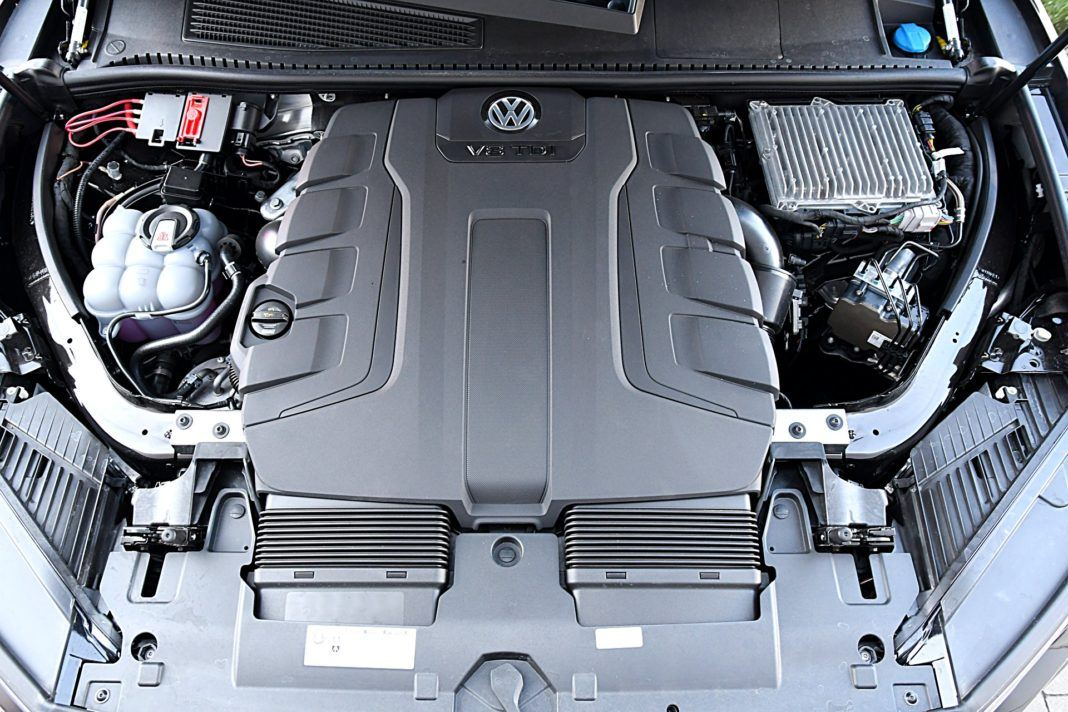Volkswagen Touareg 4.0 V8 TDI – silnik