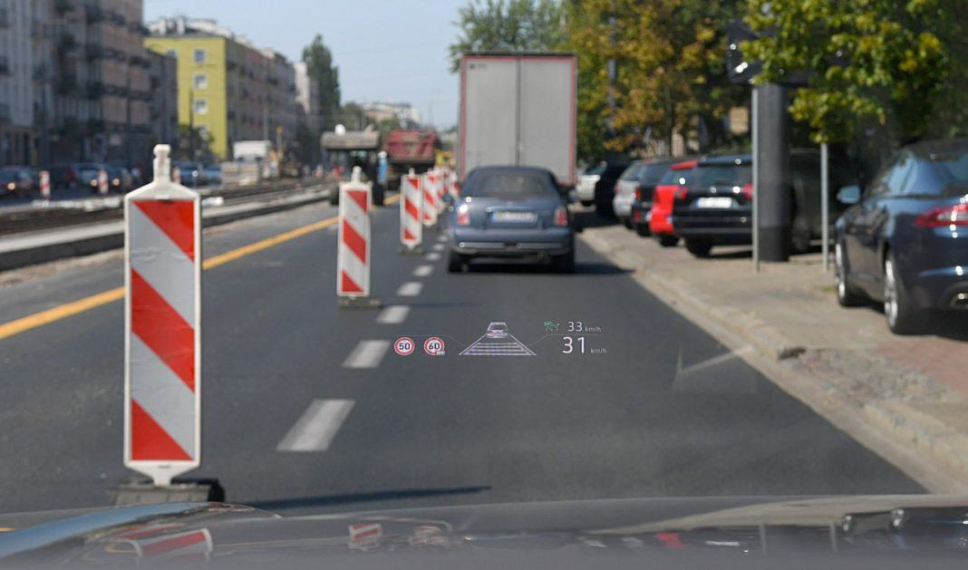 Volkswagen Touareg 4.0 V8 TDI – head-up-display
