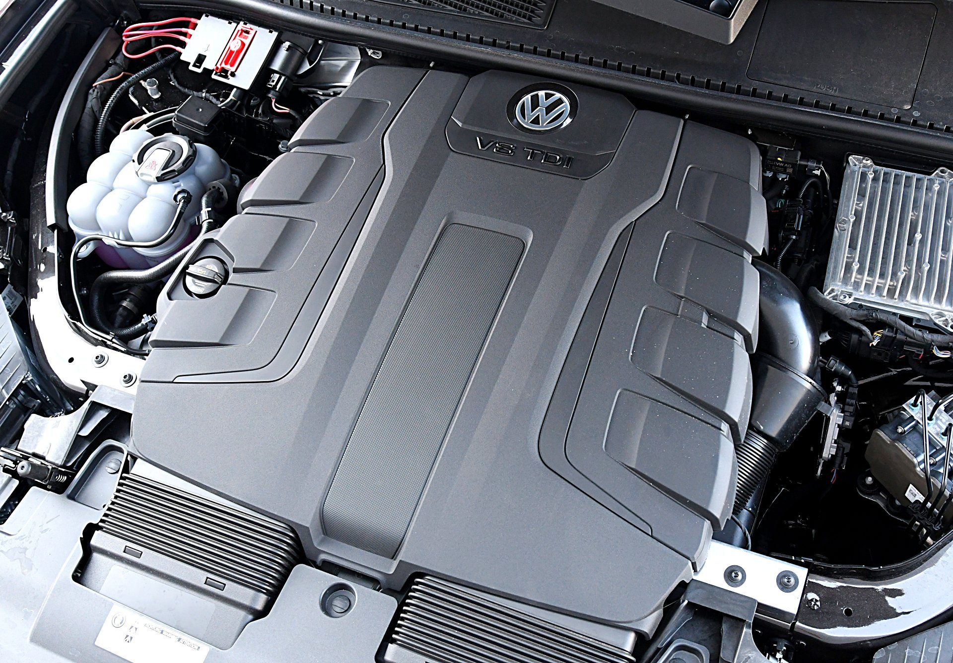 Volkswagen Touareg 4.0 V8 TDI silnik