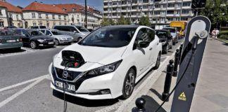 Ładowanie Nissana Leaf
