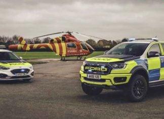 Policja przetestuje Fordy Ranger Raptor i Focus ST