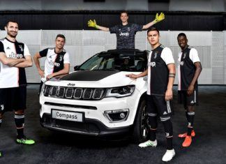 Jubileuszowy Jeep Compass dla kibiców Juventusu