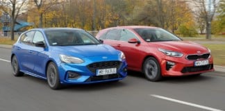 Ford Focus - Kia Ceed