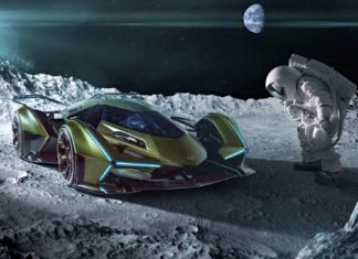 Kosmiczne Lamborghini Lambo V12 Vision GT