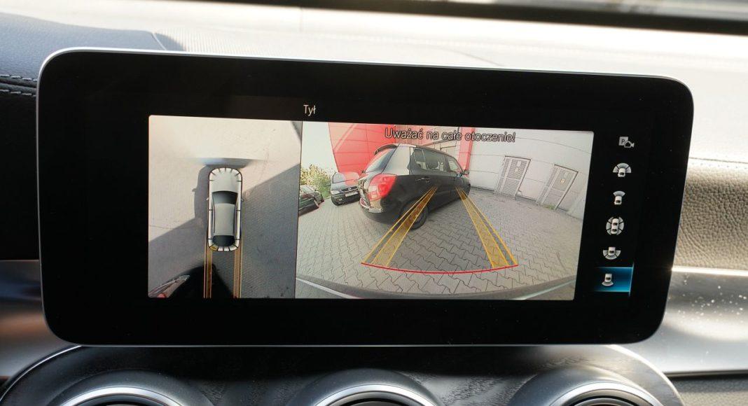 mercedes glc 300 d 2019 kamera cofania