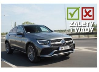 Mercedes GLC Coupe 300 d 4Matic po liftingu - plusy i minusy - TEST