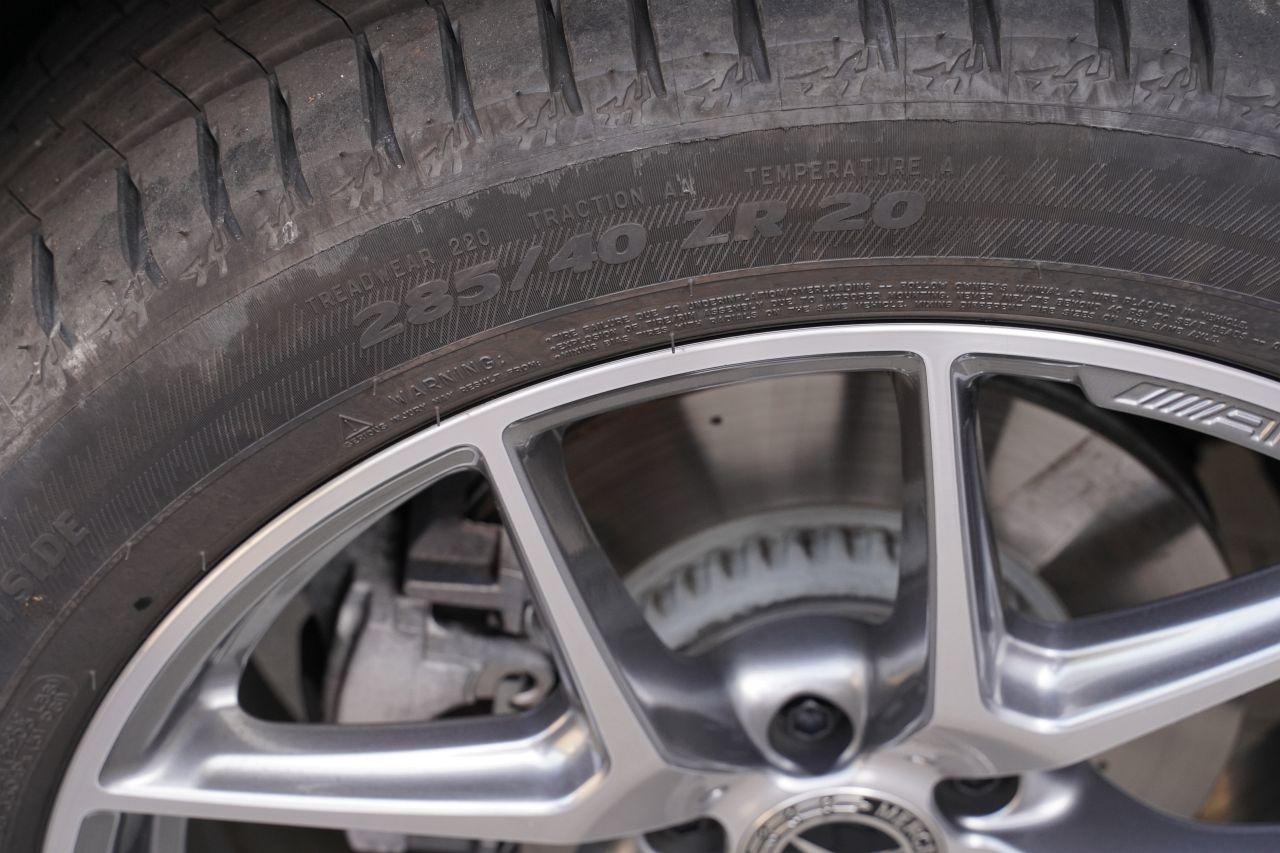 mercedes glc coupe 300 d koła felgi opony rozmiar