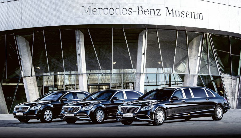 Gama modeli Mercedes-Benz Guard