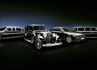 Opancerzone limuzyny Mercedesa – na specjalne zamówienie