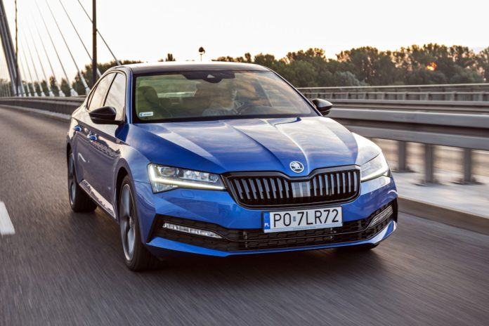 Skoda Superb III FL