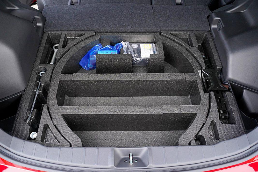 Mitsubishi ASX 2.0 CVT Intense Plus – schowek w bagażniku