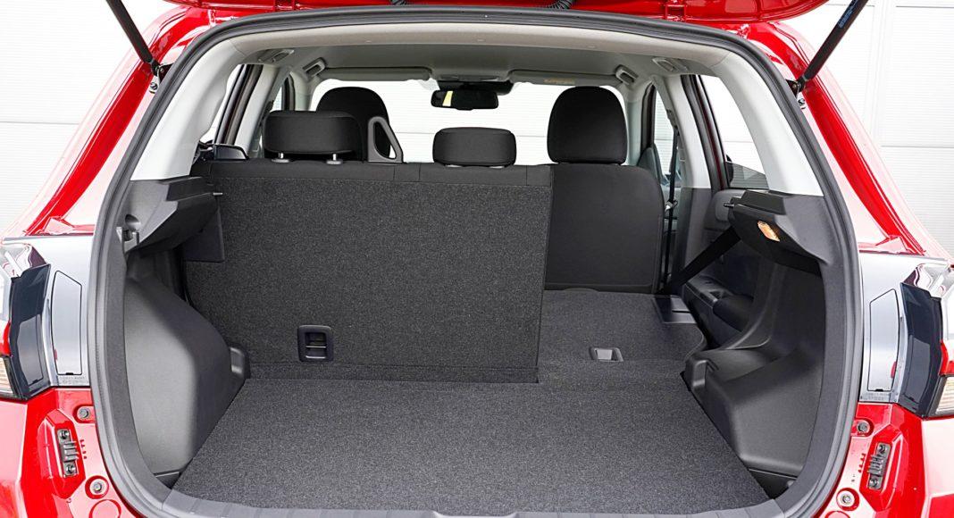 Mitsubishi ASX 2.0 CVT Intense Plus – bagażnik
