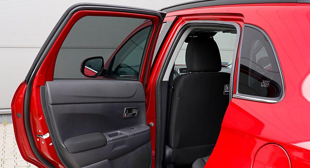 Mitsubishi ASX 2.0 CVT Intense Plus – tylne drzwi