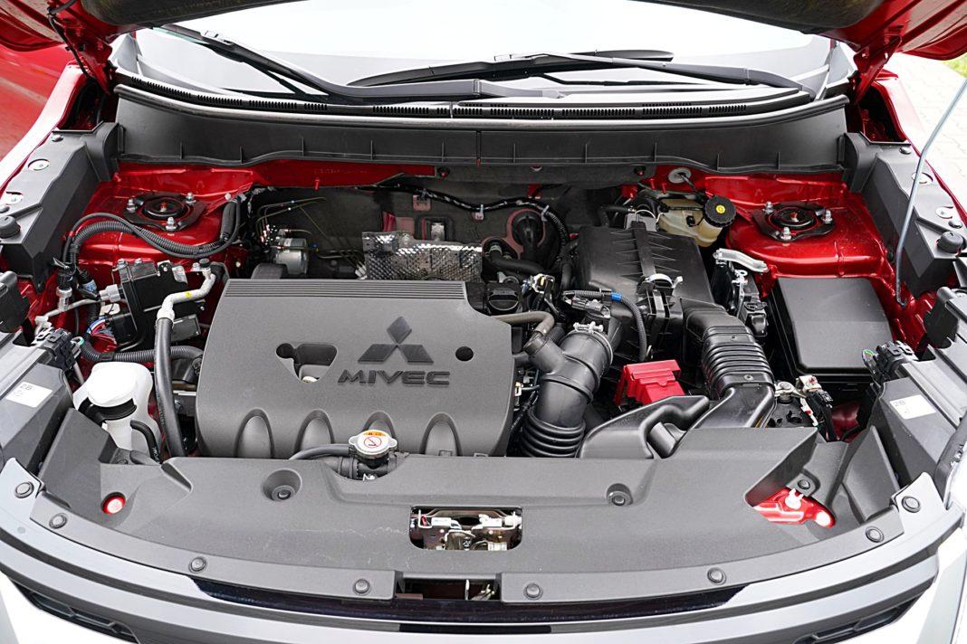 Mitsubishi ASX 2.0 CVT Intense Plus – silnik