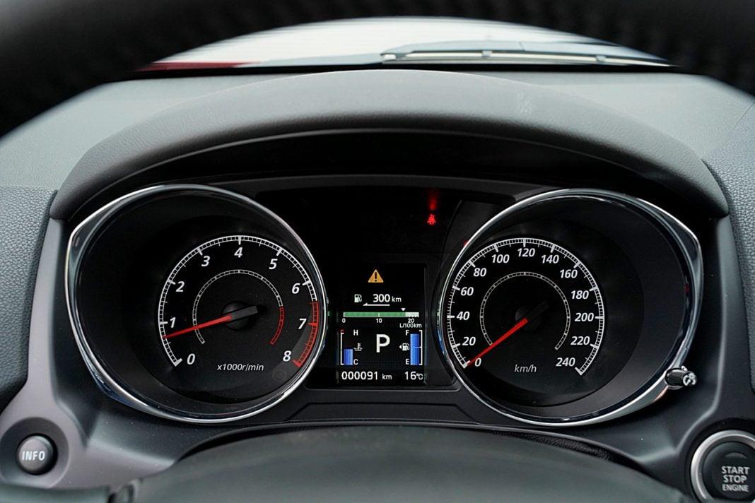 Mitsubishi ASX 2.0 CVT Intense Plus – wskaźniki