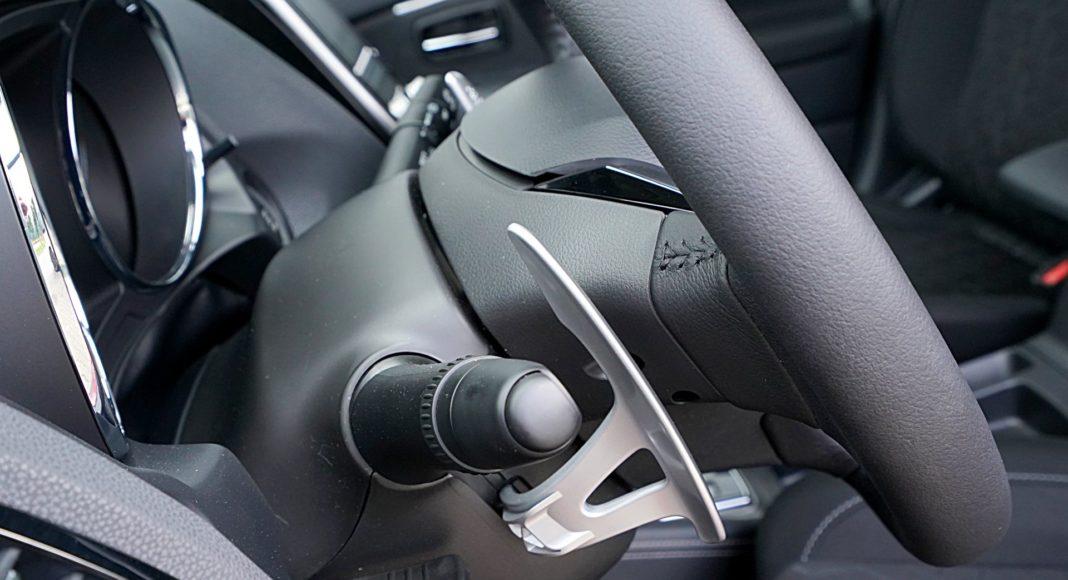 Mitsubishi ASX 2.0 CVT Intense Plus – łopatki do zmiany biegów