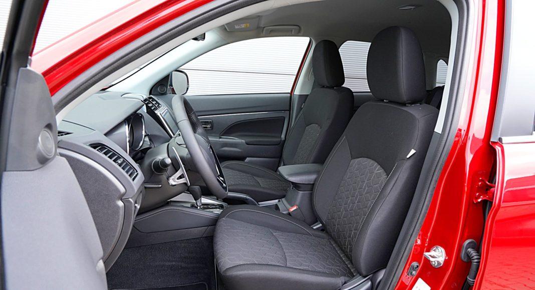 Mitsubishi ASX 2.0 CVT Intense Plus – fotele