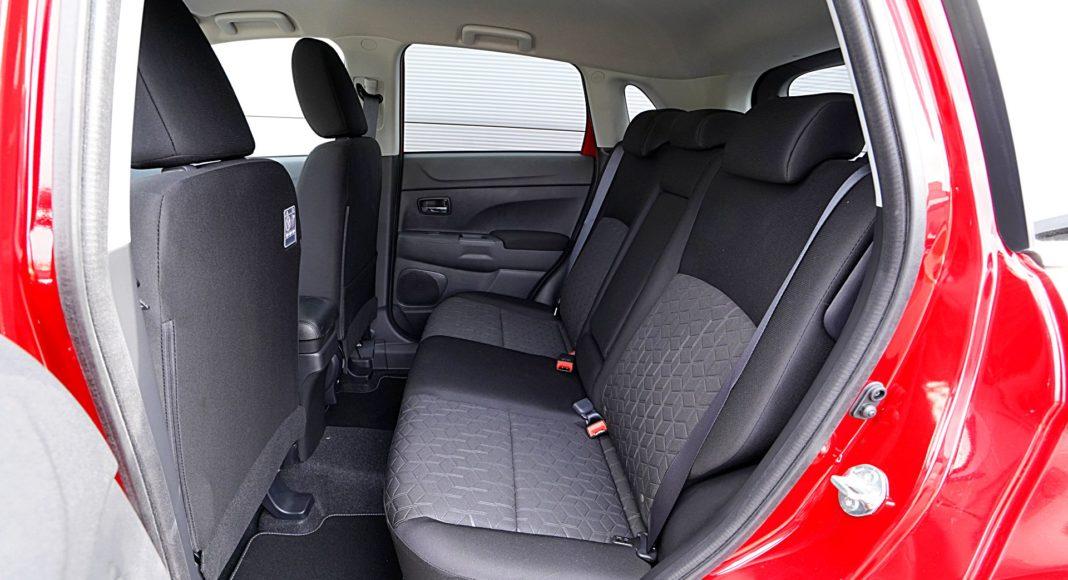 Mitsubishi ASX 2.0 CVT Intense Plus – kanapa